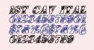 1st Cav Italic