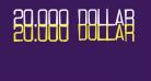 20.000 dollar bail