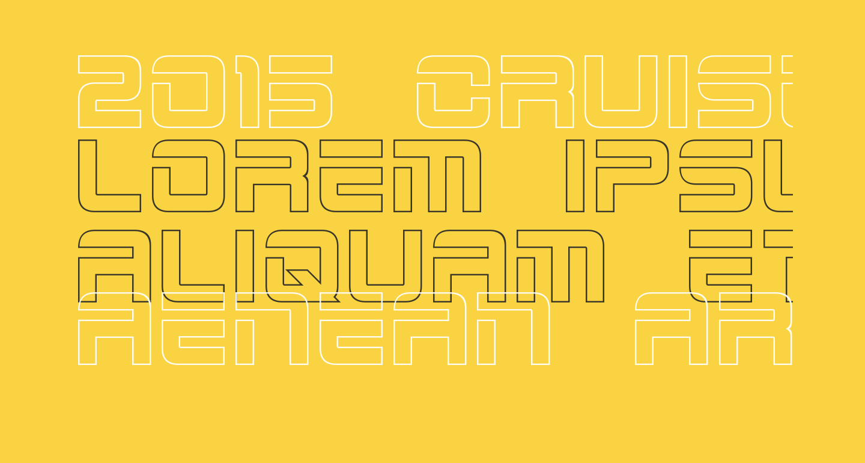 2015 Cruiser Hollow Bold