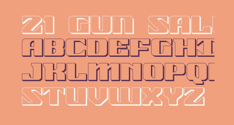 21 Gun Salute 3D