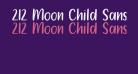 212 Moon Child Sans