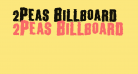 2Peas Billboard