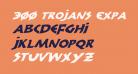 300 Trojans Expanded Italic