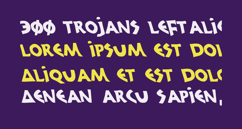 300 Trojans Leftalic