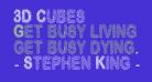 3D Cubes