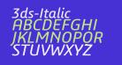 3ds-Italic