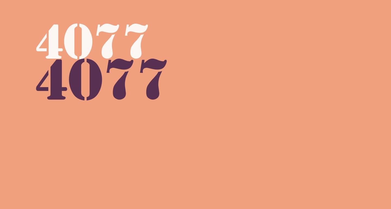 4077th