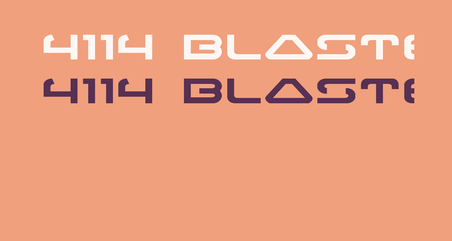 4114 Blaster Expanded