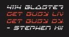4114 Blaster Laser Italic