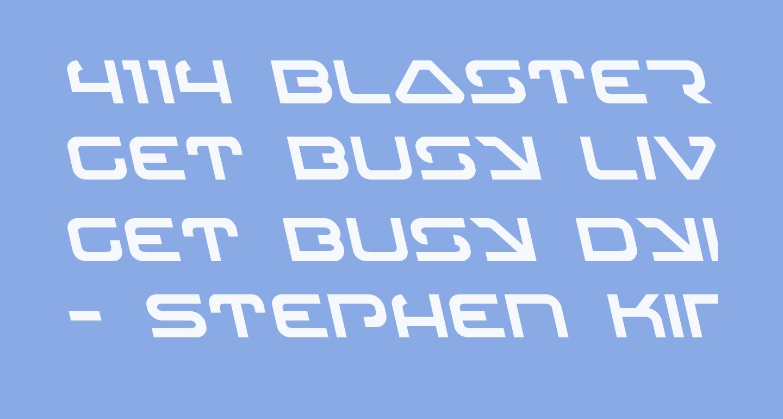 4114 Blaster Leftalic