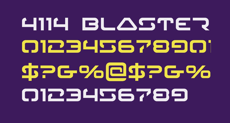 4114 Blaster