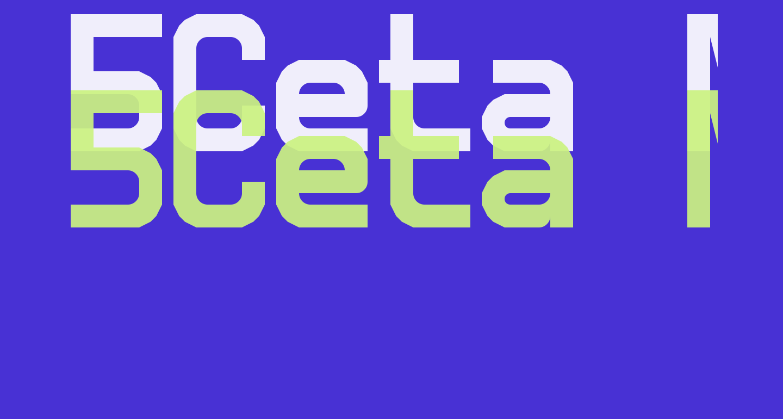 5Ceta Mono Regular