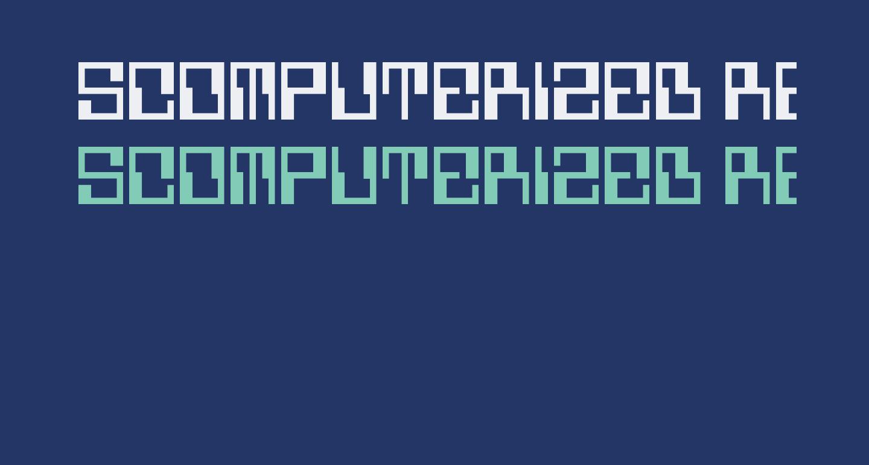 5Computerized Regular