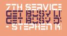 7th Service Condensed