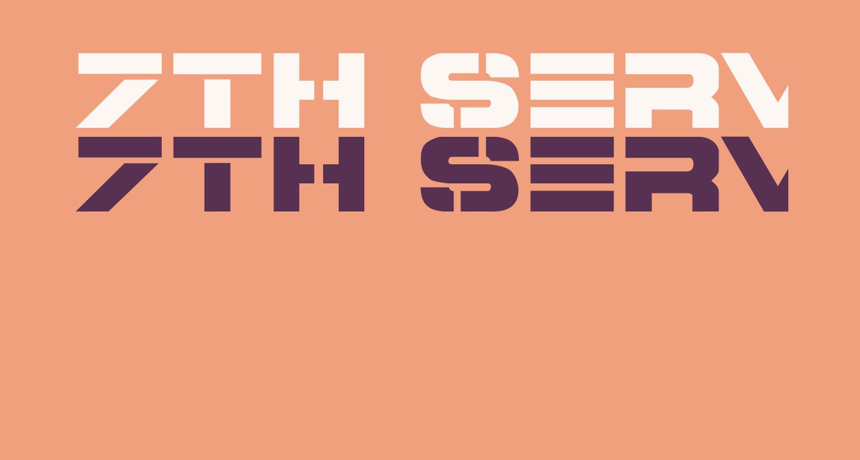 7th Service ExtraBold