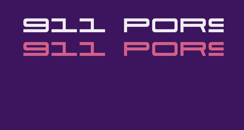 911 Porscha
