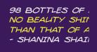 98 Bottles of Beer Italic
