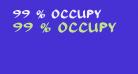 99 % OCCUPY