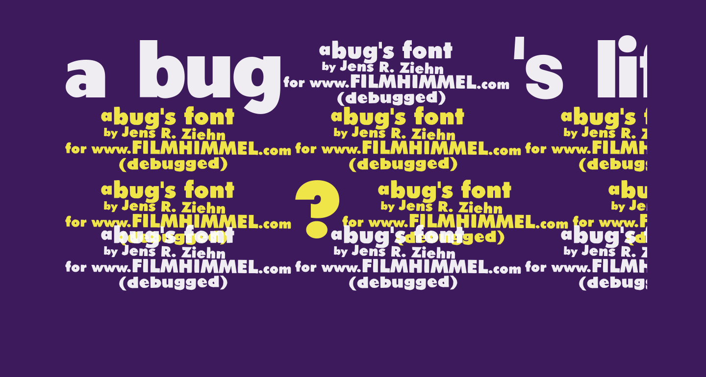 a bug's life - debugged