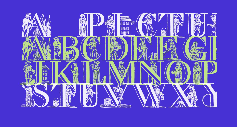 a picture alphabet