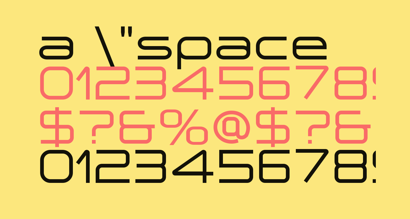 a 'space
