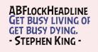 ABFlockHeadline Regular