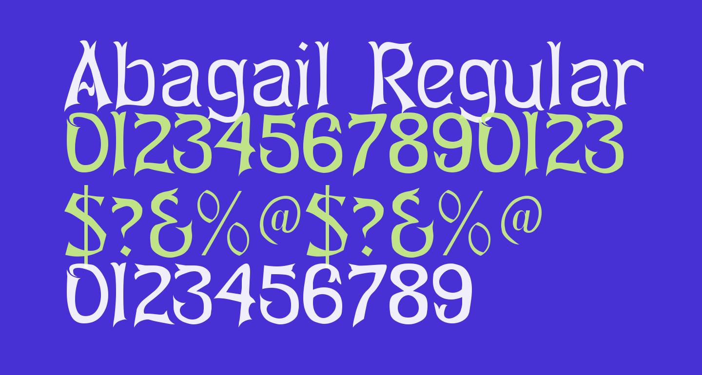 Abagail Regular