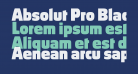 Absolut Pro Black reduced