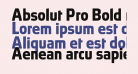 Absolut Pro Bold reduced