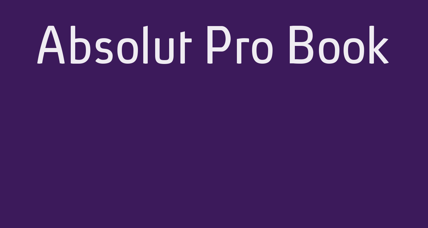 Absolut Pro Book reduced