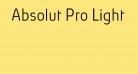 Absolut Pro Light reduced