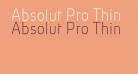 Absolut Pro Thin reduced