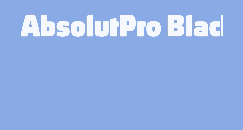AbsolutPro-Black