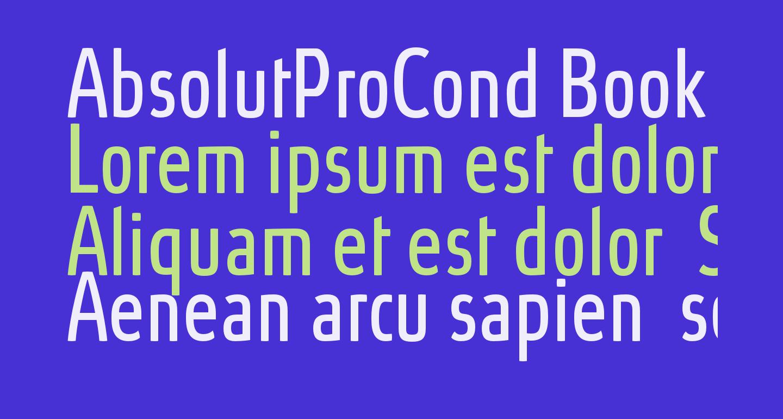 AbsolutProCond-Book