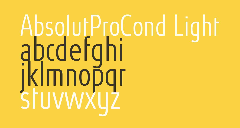 AbsolutProCond-Light