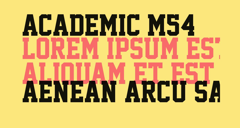 Academic M54