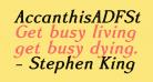 AccanthisADFStdNo2-BoldItalic
