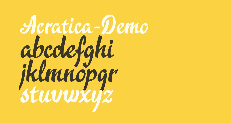 Acratica-Demo