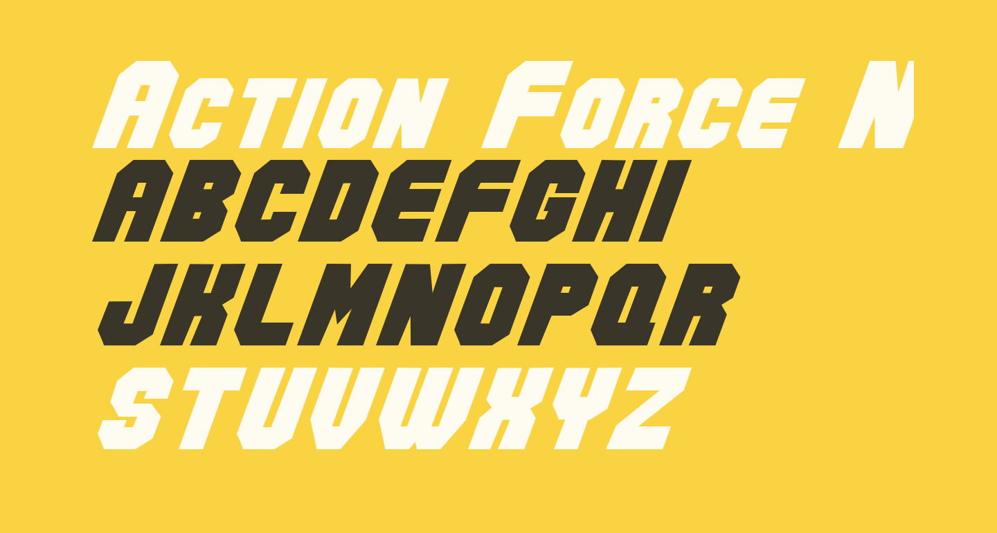Action Force Normal