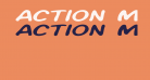 Action Man Extended Italic