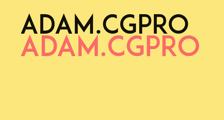 ADAM.CGPRO