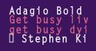 Adagio Bold