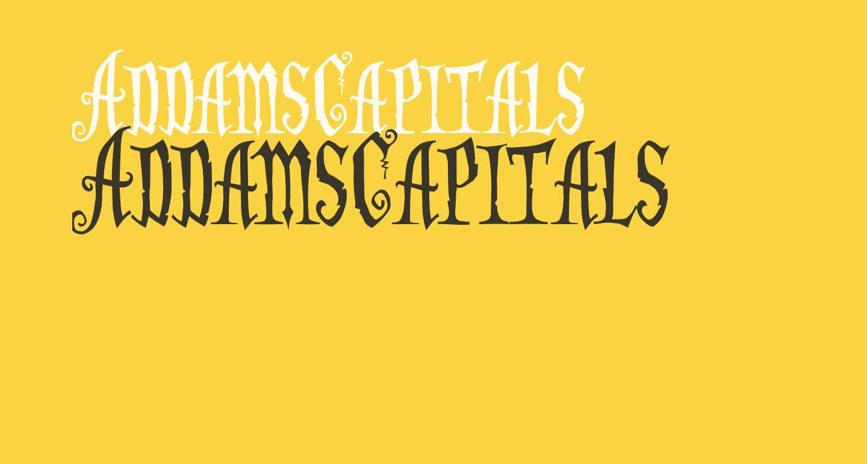 AddamsCapitals