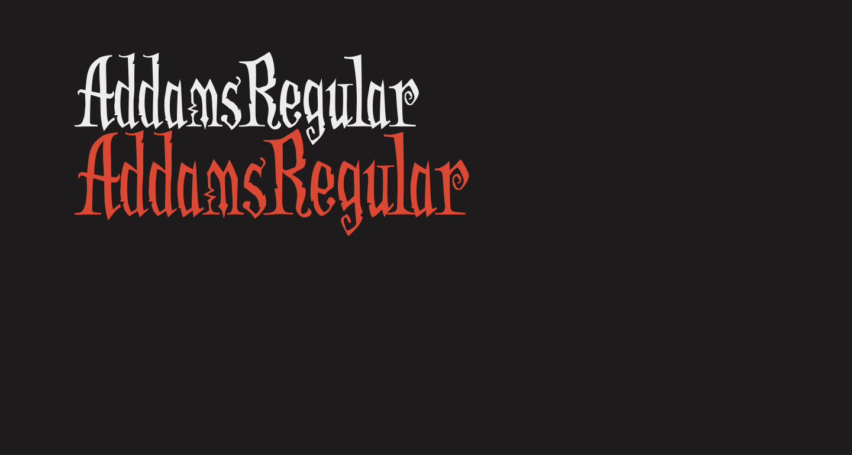 AddamsRegular