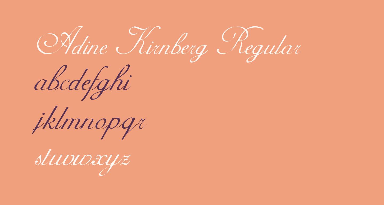 Adine Kirnberg Regular