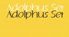 Adolphus Serif