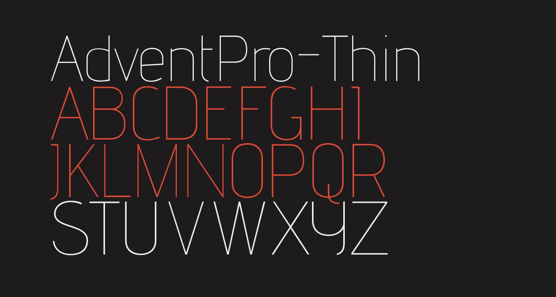 AdventPro-Thin