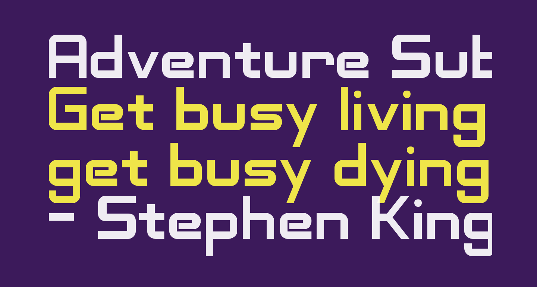 Adventure Subtitles Normal