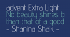 advent Extra Light