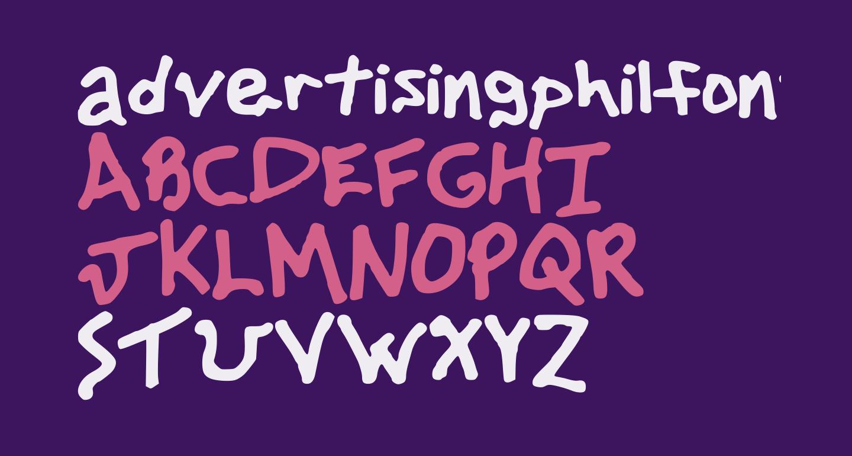 advertisingphilfont